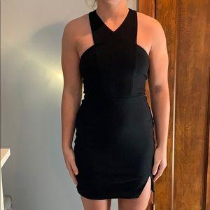Express black dress worn one time
